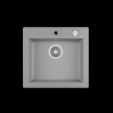Мойка из искусственного камня Teka CLIVO 50 S-TQ 1B ALUGRAUMETALLIC
