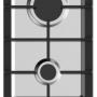 Газовая варочная поверхность Домино Midea MG3205X