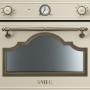 Компактный духовой шкаф с микроволновой печью Smeg SF4750MCPO