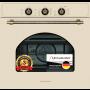 Электрический независимый духовой шкаф Schaub Lorenz SLB EB6610