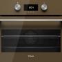 Компактный мультифункциональный духовой шкаф Teka HLC 8400 LONDON BRICK BROWN