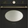 Встраиваемый электрический духовой шкаф Smeg SCP805AO9