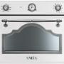 Компактный духовой шкаф с микроволновой печью Smeg SF4750MCBS