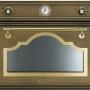 Компактный духовой шкаф с микроволновой печью Smeg SF4750MCOT