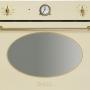 Компактный духовой шкаф с микроволновой печью Smeg SF4800MCP