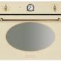 Компактный духовой шкаф с микроволновой печью Smeg SF4800MCPO