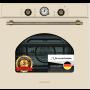 Электрический независимый духовой шкаф Schaub Lorenz SLB EB6860